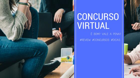Avaliação do Concurso Virtual