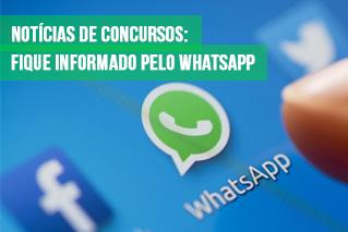 noticias de concursos publicos no whatsapp