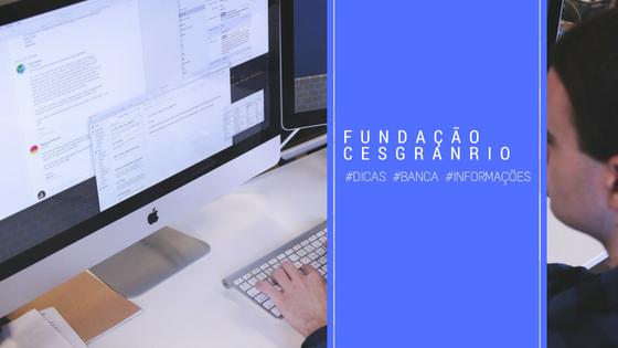 perfil da banca Fundação Cesgranrio