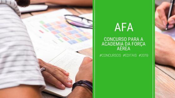 CONCURSO AFA 2019
